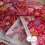 ผ้าคอตตอนญี่ปุ่น 100% 1/4ม.(50x55ซม.) พื้นสีแดง ลายซากุระ thumbnail 3
