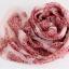 ผ้าพันคอผ้าPolyester+ผ้าไหม ลายลูกไม้เสือดาวสีชมพูแดง ( รหัส P57 ) thumbnail 1