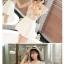 ชุดเสื้อชีฟองลายดอกไม้น่ารักๆ กับกระโปรงสีขาว ดูจะเข้าคู่กันได้ลงตัว น่ารักจริงๆ thumbnail 7