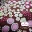 ผ้าคอตตอนไทย 100% 1/4 ม.(50x55ซม.) พื้นสีน้ำตาล ลายสวนดอกไม้ thumbnail 3