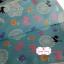 ผ้าคอตตอนญี่ปุ่น 100% 1/4ม.(50x55ซม.) โทนสีฟ้า thumbnail 2