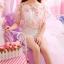 เสื้อแฟชั่นสตรี ตัดเย็บด้วยชีฟองลายดอกไม้ เป็นเกาะอกแสนหวาน thumbnail 4