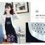 เสื้อคลุมแชั่น สีขาว - ดำ ยอดนิยม ลูกไม้ลายเก๋ๆ ใส่สบาย ระบายอากาศได้ดี thumbnail 6