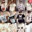 เสื้อยืดแฟชั่นสำหรับสาวๆ ผ้านิ่ม มีลายให้เลือกมากมาย และหลายขนาด SET3 thumbnail 1
