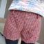 หใม่กางเกงขาสั้นแฟชั่นเกาหลี ตัดชายขาแบบคลื่น ผสมกับลวดลายสาน ใส่เข้ากับเสื้อตัวไหนก็ขึ้น thumbnail 16