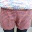 หใม่กางเกงขาสั้นแฟชั่นเกาหลี ตัดชายขาแบบคลื่น ผสมกับลวดลายสาน ใส่เข้ากับเสื้อตัวไหนก็ขึ้น thumbnail 15
