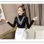 เสื้อแฟชั่นเกาหลีสวยๆ คอเต่าผ้านิ่ม คาดลายเหมือนคอวี ทั้ง 2 ด้าน ดูเก๋จริงๆ thumbnail 13