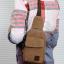 กระเป๋าเป้สะพายข้างสำหรับหนุ่มๆ ดีไซน์เท่ห์ๆ ขนาดกำลังดี thumbnail 1