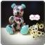 [Made to Order] ตุ๊กตาหมีผ้าคอตตอน ขนาด 8 นิ้ว thumbnail 2