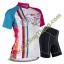 เสื้อแขนสั้นปั่นจักรยานสำหรับผู้หญิง **พร้อมส่ง thumbnail 1
