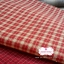 ผ้าทอญี่ปุ่น 1/4ม.(50x55ซม.) ลายตารางโทนสีแดง thumbnail 2