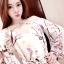 เดรสแฟชั่นเกาหลี สีสวย ผ้าเนื้อดี ลายโดดเด่น สวยสะกดทุกสายตา thumbnail 8