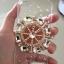 เคสไอโฟน 5/5s/SE เคสไอโฟนกรอบใสประดับเพชร คริสตัล สมอเรือ thumbnail 2