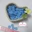 กระดุมพลาสติกสีฟ้าเข้ม ขนาด 1.2 ซ.ม. จำนวน 12 เม็ด(1โหล) thumbnail 1