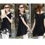เสื้อชีฟองสีดำ ทรงยาว แต่งด้วยลายปักดอกไม้ ตัดกับชุด ดูสวยเข้ากับหุ่นหญิงๆ อย่างเราจริงๆ thumbnail 4