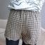 หใม่กางเกงขาสั้นแฟชั่นเกาหลี ตัดชายขาแบบคลื่น ผสมกับลวดลายสาน ใส่เข้ากับเสื้อตัวไหนก็ขึ้น thumbnail 17