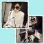 เดรสแฟชั่นเกาหลี สีขาวดำสกรีนลายเท่ห์ๆ สำหรับสาวมั่นและเด็กแนวโดยเฉพาะ thumbnail 1