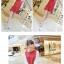เดรสสั้นเกาหลีีสแขนยาวสีทูโทน รื่นเรียบเบาาสบายด้วยผ้าชีฟอง thumbnail 8