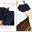 กางเกงแฟชั่นเกาหลี ใส่สบายด้วยผ้าชีฟอง มีซิบและมียางยืดมาในตัว thumbnail 2