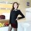 เสื้อแฟชั่นเกาหลี แขนยาว ตัดเย็บด้วยลูกไม้ลายสวย ประณีต มีระดับ ไฮโซสุดๆ thumbnail 16