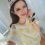 เดรสสั้นลายดาวสีสดใส หรือจะเป็นเสื้อทรงยาวสำหรับสาวไซด์มินิ เด่นด้วยสีสันและแขนเสื้อ thumbnail 4