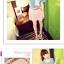 กางเกงแฟชั่นเกาหลี ใส่สบายด้วยผ้าชีฟอง มีซิบและมียางยืดมาในตัว thumbnail 6