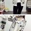 เสื้อกันหนาวแฟชั่น คอกลม ขนาดกำลังดี สกรีนลายสวยๆ น่าใส่มากค่ะ thumbnail 11