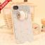 เคสไอโฟน 5/5s/SE (Case iphone 5/5s/SE) เคสไอโฟนกรอบใส ประดับเพชรและปลาน้อย thumbnail 1