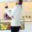 เสื้อแฟชั่นเกาหลี แขนยาว ตัดเย็บด้วยลูกไม้ลายสวย ประณีต มีระดับ ไฮโซสุดๆ thumbnail 5