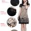 เดรสแฟชั่นเกาหลี สีสันและลวดลาย สวยเตะตา ใส่สบายด้วยผ้าที่บางเบาและยับบาก thumbnail 2