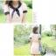 เดรสสั้นเกาหลี Mayuki ปกเสื้อสไตล์ผูกโบว์ thumbnail 12
