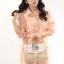 Pre Order กระเป๋าแฟชั่นทรงสวยเก๋ๆ ในแบบสาวเกาหลี ตกแต่งอย่างประณีตทุกจุด มีให้เลือกถึง 4 สี thumbnail 2
