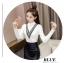 เสื้อแฟชั่นเกาหลีสวยๆ คอเต่าผ้านิ่ม คาดลายเหมือนคอวี ทั้ง 2 ด้าน ดูเก๋จริงๆ thumbnail 19