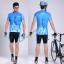 พรีออเดอร์ ชุดปั่นจักรยาน เสื้อปั่นจักรยานแขนสั้น+กางเกงปั่นจักรยานขาสั้น รหัส C067-3 thumbnail 1