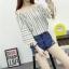 ชุดแฟชั่น สไตล์เปิดไหล่กว่างๆ คอเสื้อยืดหยุ่นได้ หมดกังวลสำหรับสาวไซด์มินิ thumbnail 9
