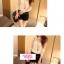เสื้อแขนยาวแฟชั่นเกาหลี ตัดเย็บกับลายลูกไม้ เบาสบายด้วยเนื้อผ้าชีฟอง thumbnail 2