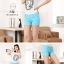 กางเกงขาสั้นแฟชั่นสุภาพสตรี สีสันสดใส ใส่ชิลๆ ได้ทุกวัน สีสันจัดจ้านโดนทุกวัย SET3 thumbnail 16