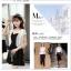 เสื้อคลุมกิ๊บเก๋ บางเบาแบบฉบับของผ้าชีฟอง สีดำและสีขาว ใส่ได้กับผ้าทุกสไตล์ thumbnail 4