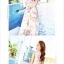 เดรสแฟชั่นเกาหลี กระโปรงยาวพริ้วๆ ลายดอกไม้ หรูหรา น่าใส่มั่กๆๆ thumbnail 3