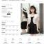 เสื้อคลุมกิ๊บเก๋ บางเบาแบบฉบับของผ้าชีฟอง สีดำและสีขาว ใส่ได้กับผ้าทุกสไตล์ thumbnail 5