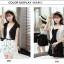 เสื้อคลุมกิ๊บเก๋ บางเบาแบบฉบับของผ้าชีฟอง สีดำและสีขาว ใส่ได้กับผ้าทุกสไตล์ thumbnail 6