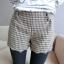 หใม่กางเกงขาสั้นแฟชั่นเกาหลี ตัดชายขาแบบคลื่น ผสมกับลวดลายสาน ใส่เข้ากับเสื้อตัวไหนก็ขึ้น thumbnail 19
