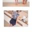 จั๊มสูทขาสั้น สีสันสดสวย เข้ากับเสื้อลายดอกแขนกุดน่ารักๆ ใครใส่ก็น่ารักฝุดๆ thumbnail 3