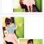กางเกงแฟชั่นเกาหลี ใส่สบายด้วยผ้าชีฟอง มีซิบและมียางยืดมาในตัว thumbnail 8