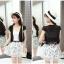 เสื้อคลุมกิ๊บเก๋ บางเบาแบบฉบับของผ้าชีฟอง สีดำและสีขาว ใส่ได้กับผ้าทุกสไตล์ thumbnail 13