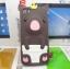 เคสไอโฟน 5/5s/SE (Case Iphone 5/5s/SE) เคสซิลิโคน หมูน้อย สีน้ำตาล thumbnail 1