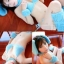 dg002 ชุดแฟนซี ชุดสัตว์น่ารัก สีฟ้า ผ้าหนานุ่มขนปุย ครบเซ็ต 9 ชิ้น ฟรีไซส์คะ thumbnail 1