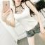 เสื้อแฟชั่นสาวเกาหลี สวยเซ็กซี่ ดูแซ่บมากค่ะสาวๆ เปลี่ยนสายเดี่ยวธรรมดา เป็นเซ็กซี่ขึ้นมาทันตา thumbnail 2