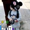 หมวกหมวกไหมพรมเด็กติดแบรนด์เนอร์ NFL สีดำ น่ารักสไตล์เกาหลี