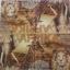 แนวภาพซาฟารี ชีวิตสัตว์ อาฟริกา สิงโต เสือ ม้าลาย รีาฟ ภาพโทนสีน้ำตาล เป็นภาพแนวยาว กระดาษแนพกิ้นสำหรับทำงาน เดคูพาจ Decoupage Paper Napkins ขนาด 33X33cm thumbnail 2